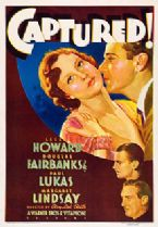 Captured 1933 DVD - Leslie Howard / Douglas Fairbanks Jr